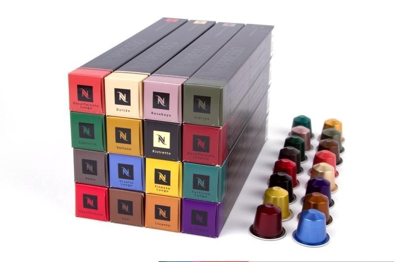 nespresso kapseln freie auswahl aus 16 sorten ebay. Black Bedroom Furniture Sets. Home Design Ideas